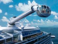 Simply step into the North Star intimate, jewel-shaped capsule and gently ascend over 300 feet above sea level, where you can take in breathtaking views of the ocean, the ship, and the exciting destinations that we visit.