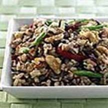 Brown & Wild Rice California Walnuts and Dried Cranberries Salad.