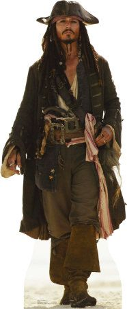 Jack Sparrow------JOhnny DEmp on the RuNway in the Caribbean
