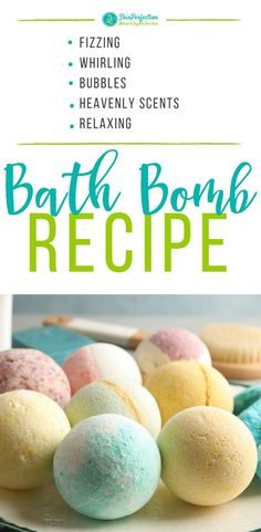 Delight your senses with our easy DIY Bath Bomb Recipe. Who doesn't love the heavenly scent and relaxing sensation of a fizzing, whirling bath bomb? These make great gifts, too! Pin to your DIY board. # Easy DIY bath bombs How to Make Bath Bombs Wine Bottle Crafts, Mason Jar Crafts, Mason Jar Diy, Bath Bombs Scents, Lush Bath Bombs, Bath Salts, Diy Bath Bombs Easy, Fizzing Bath Bombs, Bath Fizzies
