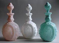 fostoria cameo milk glass - Google Search