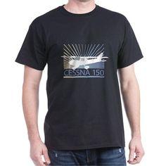 Aircraft Cessna 150 T-Shirt on CafePress.com