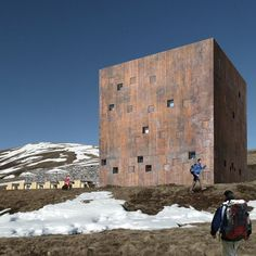 wespi de meuron romeo . new hut Monte Bar. Competition entry from 2014. 2nd prize.