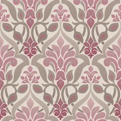 FREE SHIPPING! Shop AllModern for Brewster Home Fashions Simple Space II FusionOmbre 33' x 20.5 Damask Embossed Wallpaper - Great Deals on all  products with the best selection to choose from!