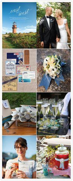 summer wedding, martha stewart