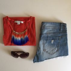 Bundle of Two Jean Shorts *Worn only once.                                                        *99% cotton 1% spandex Forever 21 Shorts
