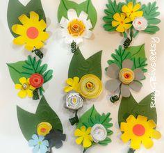 Paper #boutonnières Wedding #wedding #paperflowers