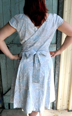 DIY Dress template. def gonna check this out. i love wrap dresses.
