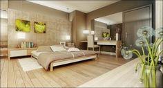 Простой и понятный, вдохновляющий дизайн спален