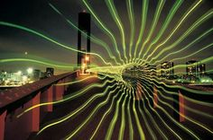Swirling light art created by Eric Staller between the late and the in New York City. Eric Staller, is largely credited with helping create light graffiti in the in New York. Light Painting, Straight Photography, Time Photography, Everything Is Illuminated, Digital Light, Lights Artist, Amazing Paintings, Light Project, Lomography