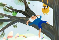 u can tell when the weathers getting nicer when u see me draw finn relaxing Adventure Time Crossover, Adventure Time Cartoon, Adventure Time Characters, Adventure Time Finn, Greatest Adventure, Abenteuerzeit Mit Finn Und Jake, Land Of Ooo, Adventure Time Wallpaper, Cinema Tv