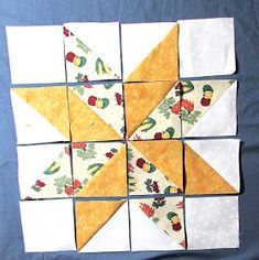 Evening Star Quilters: Variable Star Quilt Block ( 12.5 inch ) Quilt Square Patterns, Scrappy Quilt Patterns, Beginner Quilt Patterns, Star Patterns, Pattern Blocks, Quilt Blocks Easy, Star Blocks, Easy Quilts, Half Square Triangle Quilts