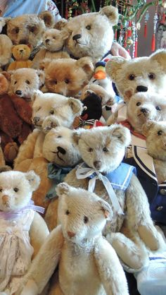 Antique Teddy Bears.....
