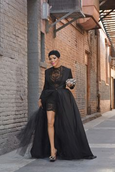 Fashion Week | Spring Summer '16 | Black gown | Blogger | Fashion | Style | Lace | Tulle