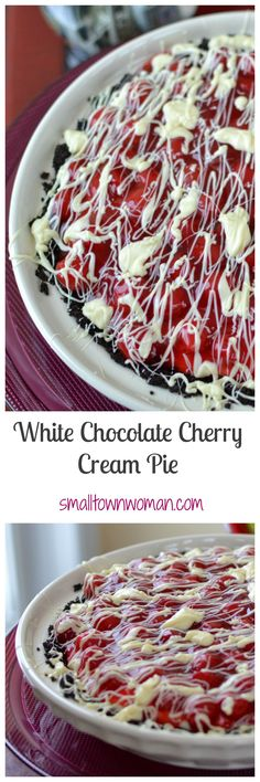 This dreamy creamy pie is so easy to make.  You could even make it in your sleep!   Just kidding!  You will need to be partially awake to melt the chocolate properly!