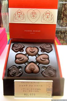 Pierre Hermé Chocolate by tokyofashion. PD