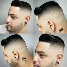 and Sky Salon is a ? Modern Haircuts, Cool Haircuts, Haircuts For Men, Boys Haircut Styles, Hair Designs For Men, Beard Trend, Hair And Beard Styles, Hair Styles, Tapered Haircut