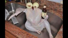 """""""Directions said to let bird chill in sink. Am I doing it right?"""""""