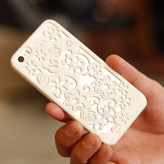 3D Flowers Iphone 5 Case, FORMBYTE