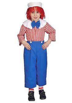 Child Rag Boy Costume