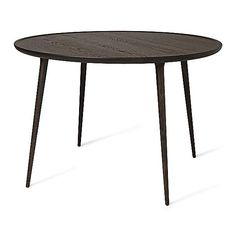 Mater Wood Accent Round Dining Table by Space Copenhagen