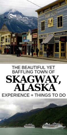 With a mix of coastal Alaskan scenery, diamonds and cruise ships, Skagway is a beautiful yet baffling town. But there is still plenty of wilderness spirit in this small community, even if it is hard to see in the height of summer. Cruise Travel, Cruise Vacation, Travel Usa, Travel Tips, Budget Travel, Vacation Spots, Travel Ideas, Travel Destinations, Moving To Alaska