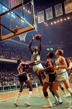 Bill Russell, the greatest winner in the history of sports and an important figure in American sports history.  Won 11 championships in 13 seasons.