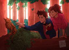 Gravity Falls - older Mabel and Dipper