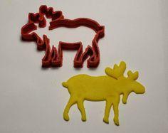 Canadian moose cookie cutter - Emporte-pièce Orignal canadien - Modifier la fiche - Etsy