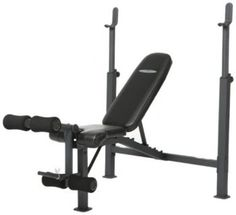 Marcy Fitness Competitor Adjustable Olympic Home Gym Workout Bench and Rack with Leg Developer for Weight Lifting and Strength Training Best Chest Workout, Chest Workouts, Gym Workouts, Workout Fitness, Chest Exercises, Fitness Gear, Home Gym Equipment, No Equipment Workout, Adjustable Weight Bench
