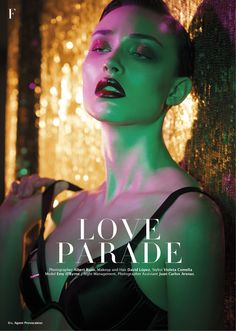 Love Parade, Emy O'Byrne by Albert Ruso for Factice Magazine #3 Automne 2014 | Factice Magazine | The French Fashion Magazine