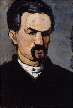 Portrait of Uncle Dominique  - Paul Cezanne