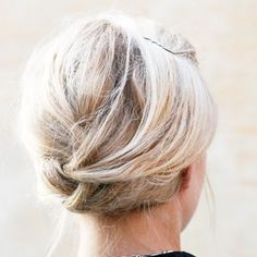 The Coolest Updo Ideas for Short Hair