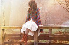 платье, мода, забор, девушка, фотка, фотография