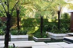 The Tourism Malaysia garden