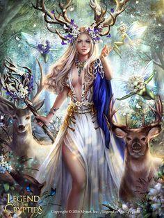 Legend of The Cryptids Square Diamond Painting Fantasy Art Women, Beautiful Fantasy Art, Beautiful Fairies, Dark Fantasy Art, Fantasy Artwork, Foto Fantasy, Fantasy Kunst, Elfen Fantasy, Anime Fantasy