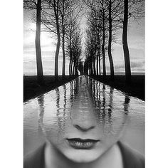 Double exposure, Antonio Mora.jpg ❤ liked on Polyvore featuring backgrounds