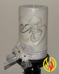 YLEANA CANDLES: Wedding Candles Unity                                                                                                                                                                                 Más