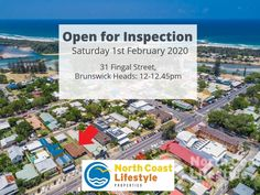 Open for inspection today 🧐🏡 Brunswick Heads, North Coast, Real Estate, Street, Real Estates, Walkway