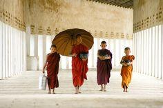 Bagan, Myanmar (Burma). Beautiful photo!