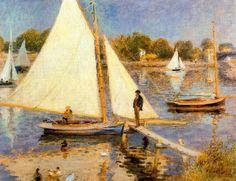 La Seine à Argenteuil, 1874 - Renoir