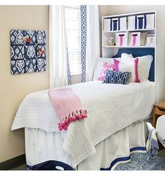 The Bed Cubby is the ultimate vertical storage unit that every college student needs. Our patent-pending design makes moving and storing a bed cubby much easier because it easily breaks down to half i