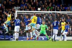 Everton 3 Rotherham 1 in Aug 2018 at Goodison Park. Will Vaulks got a goal back on 86 minutes to make it in the League Cup Round. Rotherham United, Goodison Park, Everton, Pinterest Marketing, Social Media Marketing, Football, Goals, Sports, Hs Sports