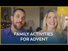 The waiting of Advent can be a time filled with great family activities and memories. Jackie and Bobby share some activities for Advent that have helped make. Adventure Bible, Advent Season, Days Before Christmas, Major Events, Perfect Sense, Spiritual Gifts, Family Activities, Teaching Kids, Other People