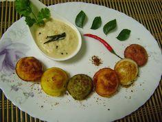 Bethica's Kitchen Flavours: Multi Coloured Kuzhi Paniyaram  (South Indian Brea...