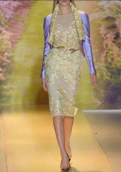 Zuhair Murad : Haute Couture Printemps Été 2014.