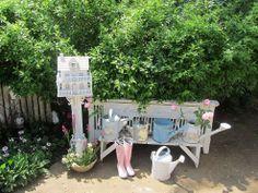 Vintage Summer Garden