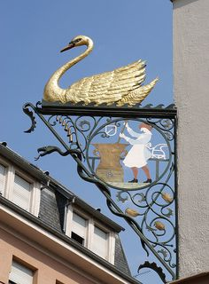 Antique Storefronts and Signs ~ *Enseigne, Colmar*