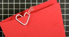 paperclip heart