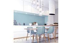 Flabellum light blue, mat